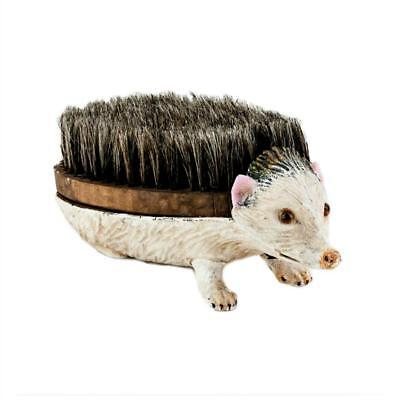 "POSSUM CAST IRON SHOE CLEANER 10"" Soft Brush Scraper Heavy Metal Unique Opossum"
