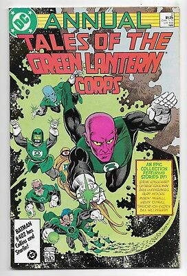 Green Lantern Corps 1986 Annual #2 Very Fine Alan Moore