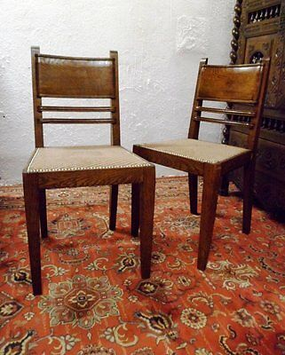 Pair of Chairs 1940 Stamped J. Faure