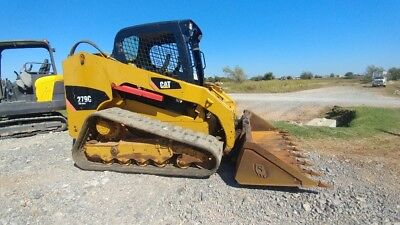2011 Caterpillar 279C Joystick 2 Speed Track Skid Steer 2636 hrs