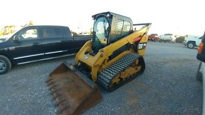 2015 Caterpillar 289D 289 D Cab A/c 2 Speed Joystick Track Skid Steer Used