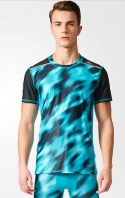 ADIDAS TECHFIT CHILL GRAPHIC Base layers Short Sleeves