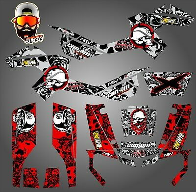 Can-Am Outlander 500 650 800R 1000 Graphics Kit Decals Stickers
