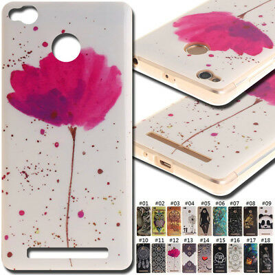 For Xiaomi Smartphone Rubber Silicone Skin TPU Soft Cover Case Protective Back