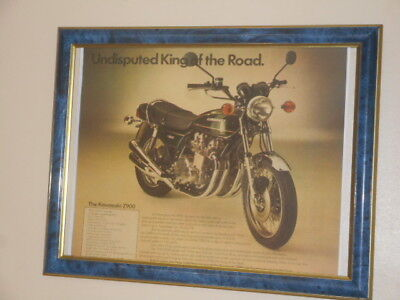 Kawasaki Z900  ' Undisputed King Of The Road'  -  frame does not come with it .