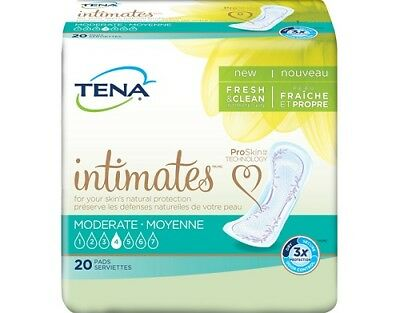 "TENA Intimates Pant Liner, Moderate, 11"" Bladder Control Pads, 41300 - 120/CS"