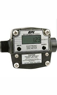 """GPI Chemical Meter - 2 to 20 GPM - 1"""" inlet/ outlet - FM-300H"""