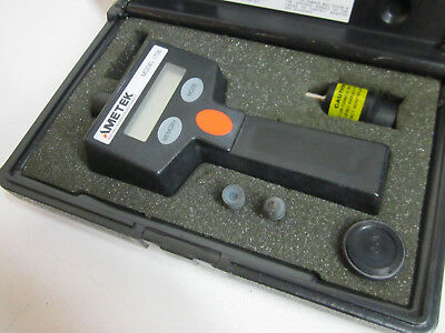 Ametek Digital Tachometer Model 1726 With Case and Accessories