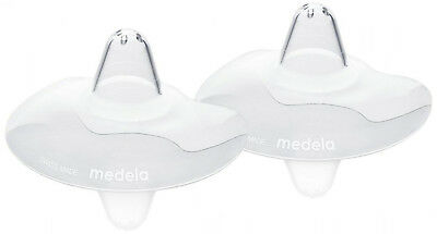 Medela 24 Mm Contact Nipple Shields With Case - Large