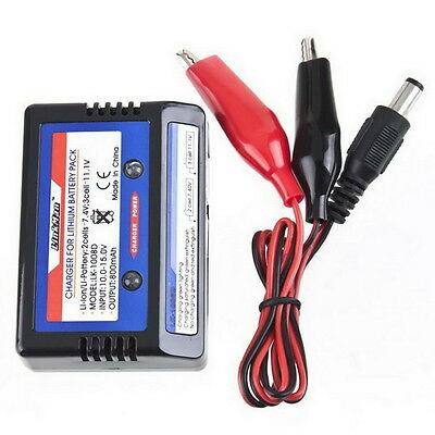 Balancer Charger Balance Charger For 7.4-11.V 2-3S 2S 3S Cells Li-PO Battery #9