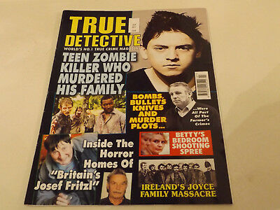 TRUE DETECTIVE MAGAZINE,JULY,2017 ISSUE,VERY GOOD FOR AGE,01 yr old,V RARE.