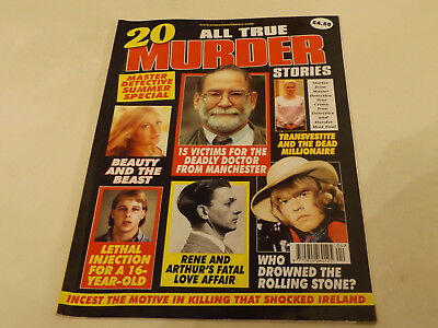 ALL TRUE MURDER MAGAZINE,SUMMER SP,2017 ISSUE,VERY GOOD FOR AGE,01 yr old,V RARE