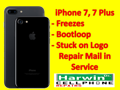 fits iPhone 7,7Plus Freeze/No Boot Disease Mail in Reapair Service***READ***