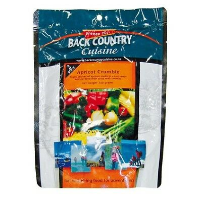 Back Country Apricot Crumble Freeze Dried Food (2 Serves)