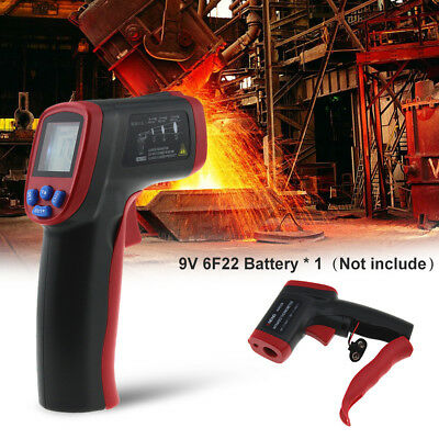 Non-Contact Digital LCD IR Laser Infrared Handheld Temperature Thermometer UK