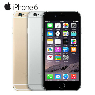 iPhone 6 16GB 64G Apple Factory Unlocked Dual Core WIFI GPS 4G Smartphone