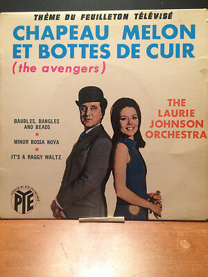 LAURIE JOHNSON ORCHESTRA - The Avengers (TV Show) 45 RPM record