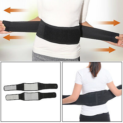 16 Magnetic Heat Waist Belt Brace For Effective Back Pain Relief Therapy Support