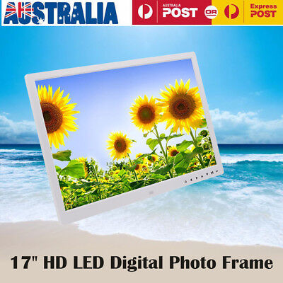 17 Inches Screen HD LED Digital Photo Frame 1440*900 Electronic Picture Album BU