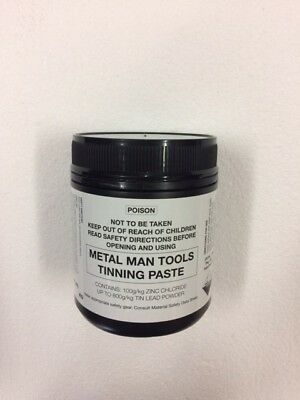 TINNING PASTE, 500g, 1/2 kg LEAD BODY SOLDER, PANEL BEATING, VEHICLE RESTORATION