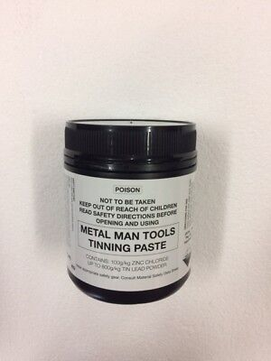 TINNING PASTE, 500g LEAD BODY SOLDER FILLING, PANEL BEATING, VEHICLE RESTORATION