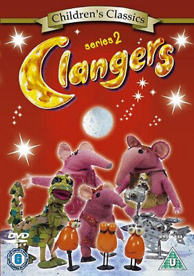 CLANGERS COMPLETE SERIES 2 DVD Second Season New Sealed UK Release R2