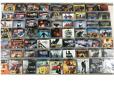 Cheap PS3 Games / Pick from the List / Bundle / Play Sation 3 / Joblot  #M6