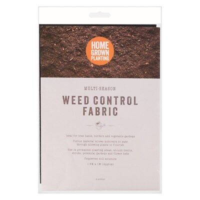Weed Control Fabric,Prevention Sheet Membrane Ground Cover,Garden Anti,1.5m x 1m