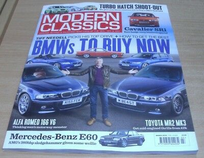 Modern Classics magazine #22 MAR 2018 BMWs to Buy Now, Turbo Hatch Shoot-out &