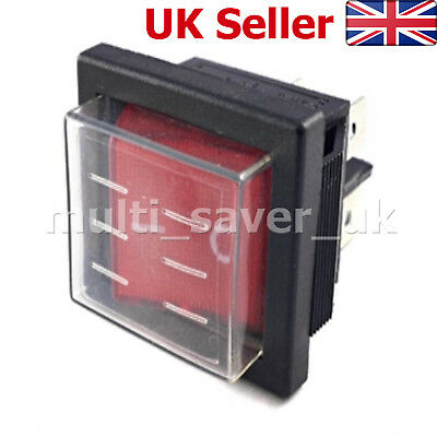 BUFFALO ON/OFF Red Switch N146 Spare for PRO Contact Grill / Griddle /Bain Marie