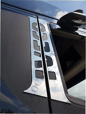 Set of 4 pcs. Door Pillars for IVECO STRALIS Made of Polished Stainless Steel