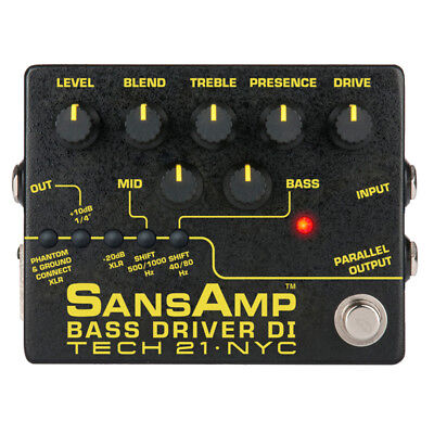 Tech 21 Bass Driver DI V.2 - SansAmp