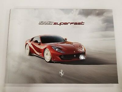 Ferrari 812 Superfast Brochure
