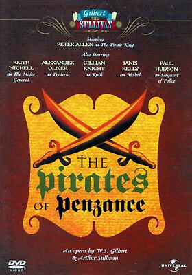 THE PIRATES OF PENZANCE DVD Peter Allen? Keith Michell New Sealed UK Release R2