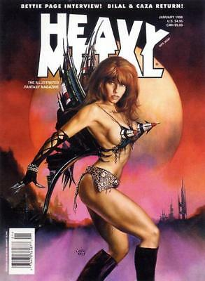 Heavy Metal Magazine 138 Issue Collection 2 Disc Set Free Shipping PDF