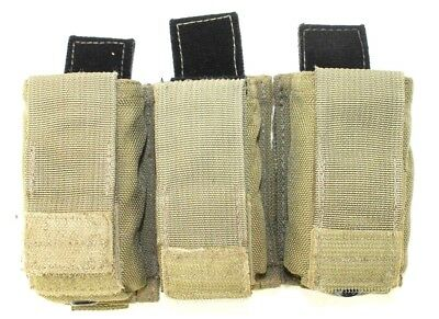 3x Eagle Industries SFLCS MJK Khaki Coyote Tan 9mm Kydex Pistol Mag Pouch FB Lot