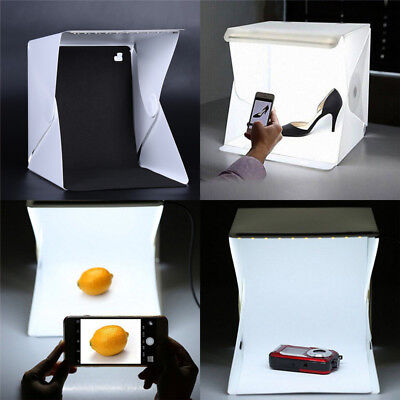 Foto Studio Beleuchtung Portable Soft LED Licht Zelt Kit Box Fal YR