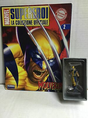Eaglemoss Supereroi Marvel N. 2 X-Men WOLVERINE MIB, 2006