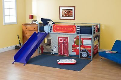 Toddler Bed Curtain Heavy Duty Set For Junior Loft Bed Kids Boys