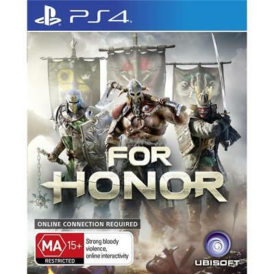 Ubisoft For Honor PlayStation 4 PS4 GAME BRAND NEW FREE POSTAGE