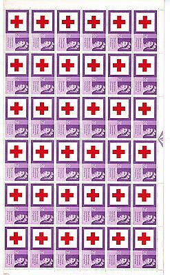 1963 RED CROSS  3d Listed Flaw  SG642b Repaired Cross ROW5/6 - MNH