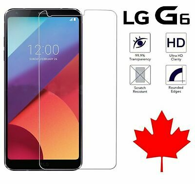 Premium Tempered Glass Screen Protector for LG G6 / Q6