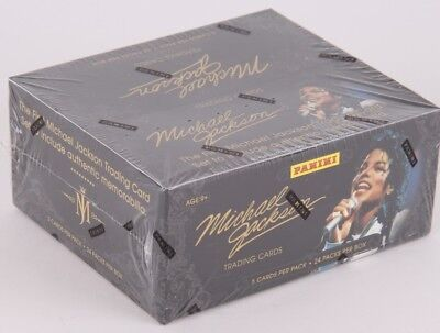 Michael Jackson Panini 2011 *BOX* Trading Cards - UK Seller - Free P&P - Charity