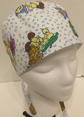 507acfc965130 ... discount code for garfield large medical surgery or skull scrub hat  chemo cap 93a2f 95b42
