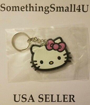 New Hello Kitty Sanrio Silicone Key Chain Keychain Collectible Charm New