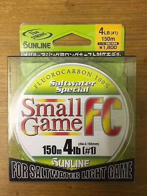 *REDUCED* Sunline Small Game FC 150m 4lb Fluorocarbon