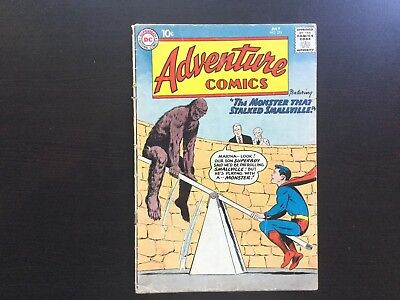 DC Adventure Comics #274 Superboy App Smallville Monster GD/VG