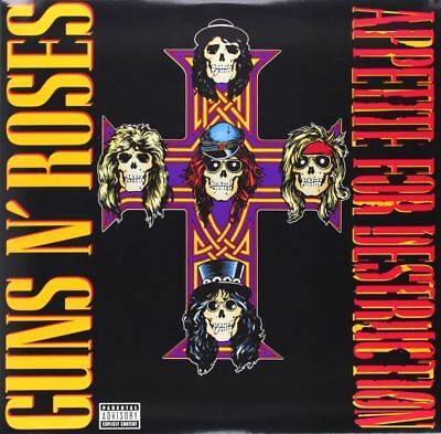 "Guns N' Roses ""Appetite For Destruction"" 180g Vinyl LP Brand New & Sealed"