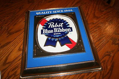 Vintage Pabst Brewing Company Blue Ribbon Beer Bar Sign Item P-2248