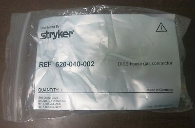 Stryker 620-040-002 DISS House Gas Connector